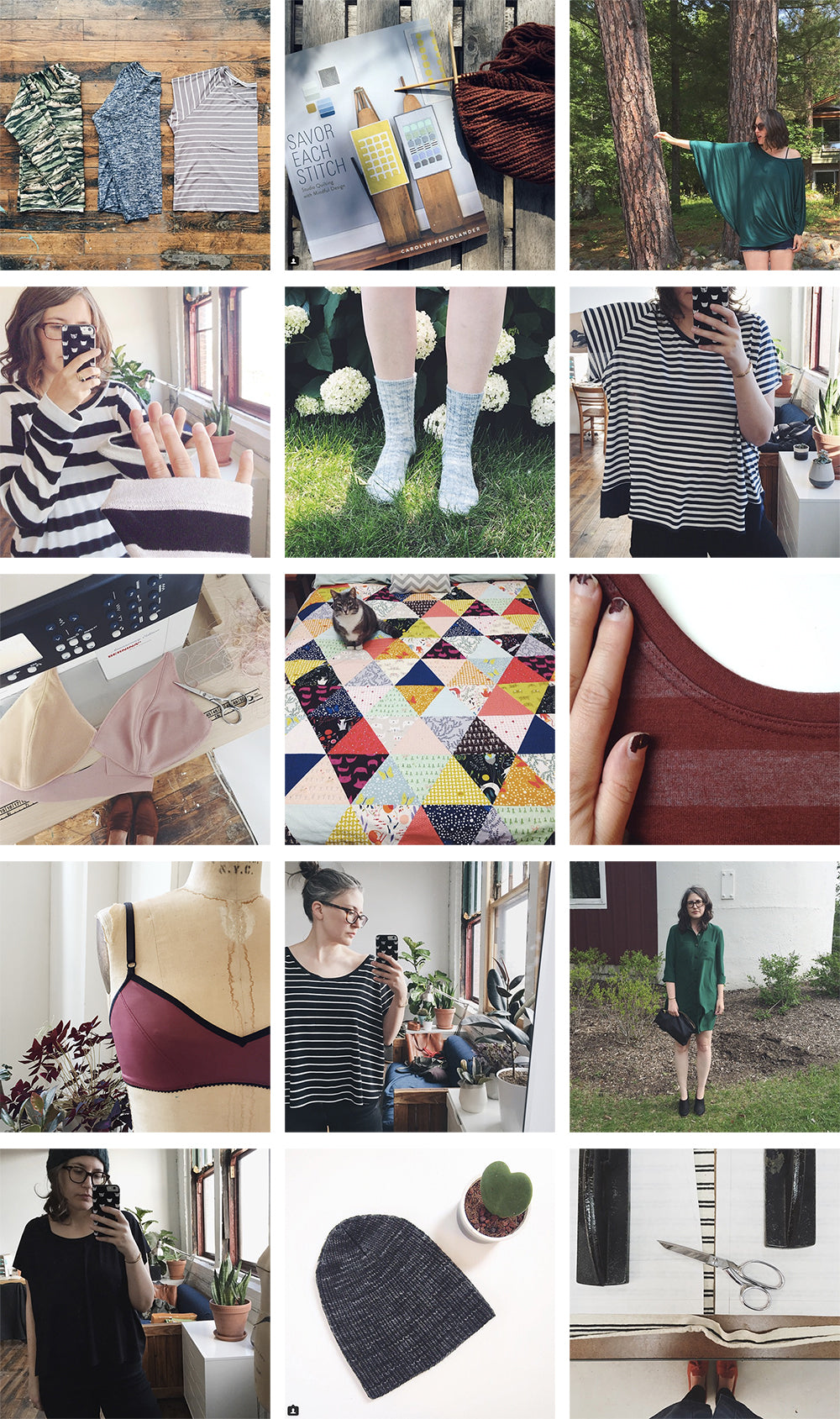 Unblogged Things I've Made | Grainline Studio