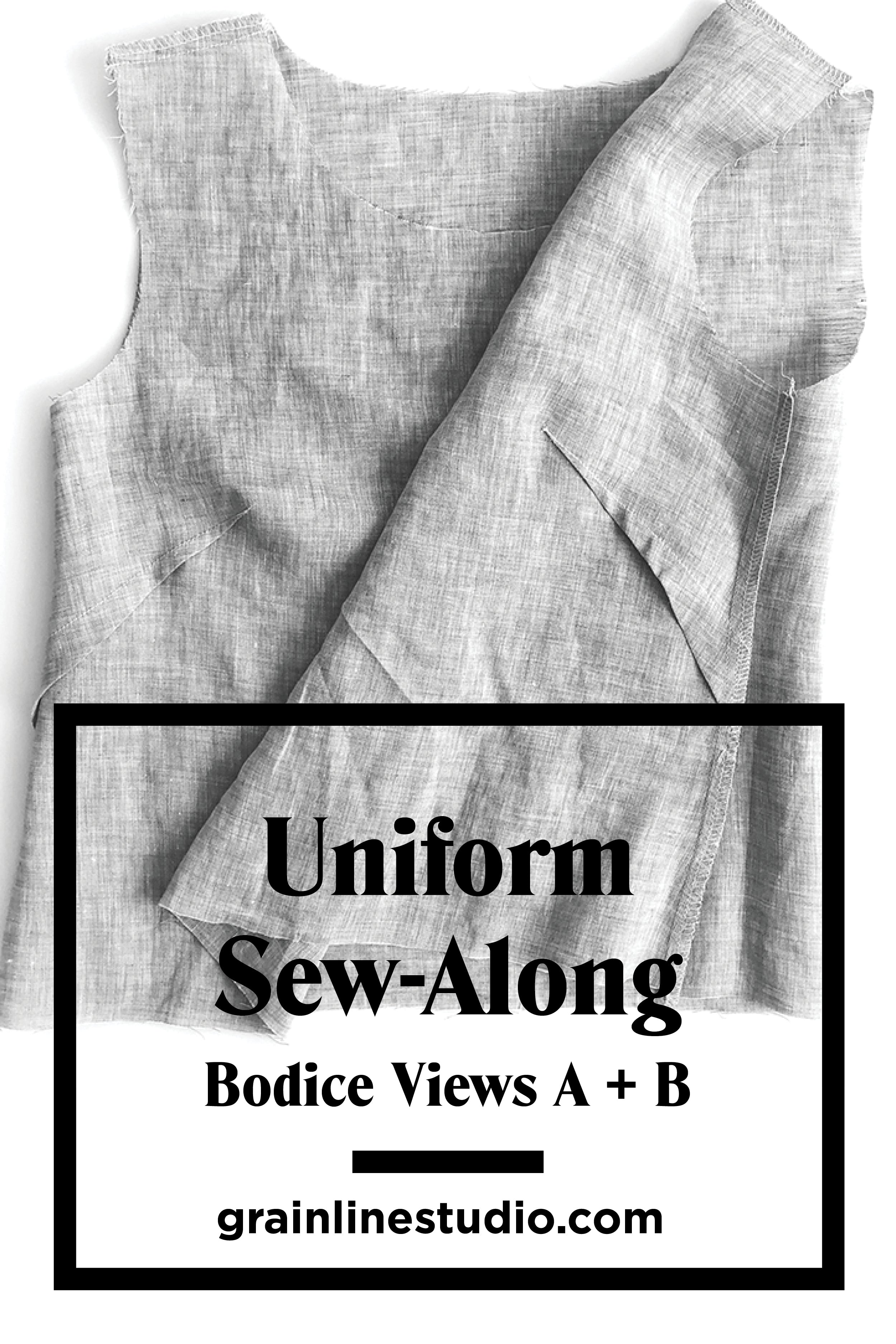 Uniform Sew-Along: Bodice Views A & B | Grainline Studio