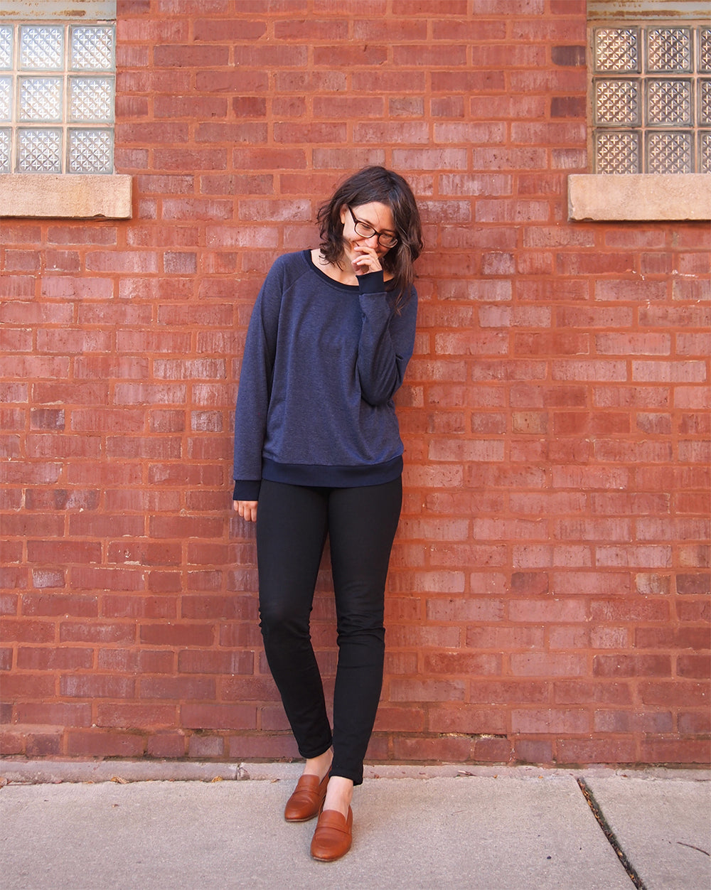 Grainline Studio | Linden Sweatshirt View A