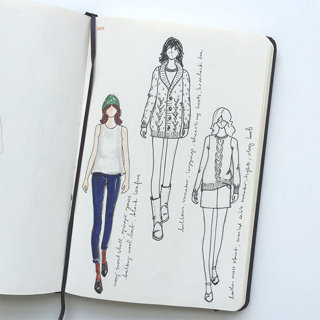 Winter '15 Wardrobe Plans | Grainline Studio