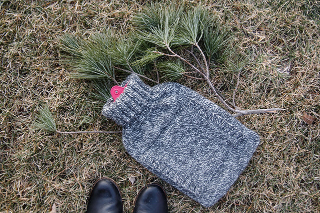 Grainline Studio | Hot Water Bottle Cozy
