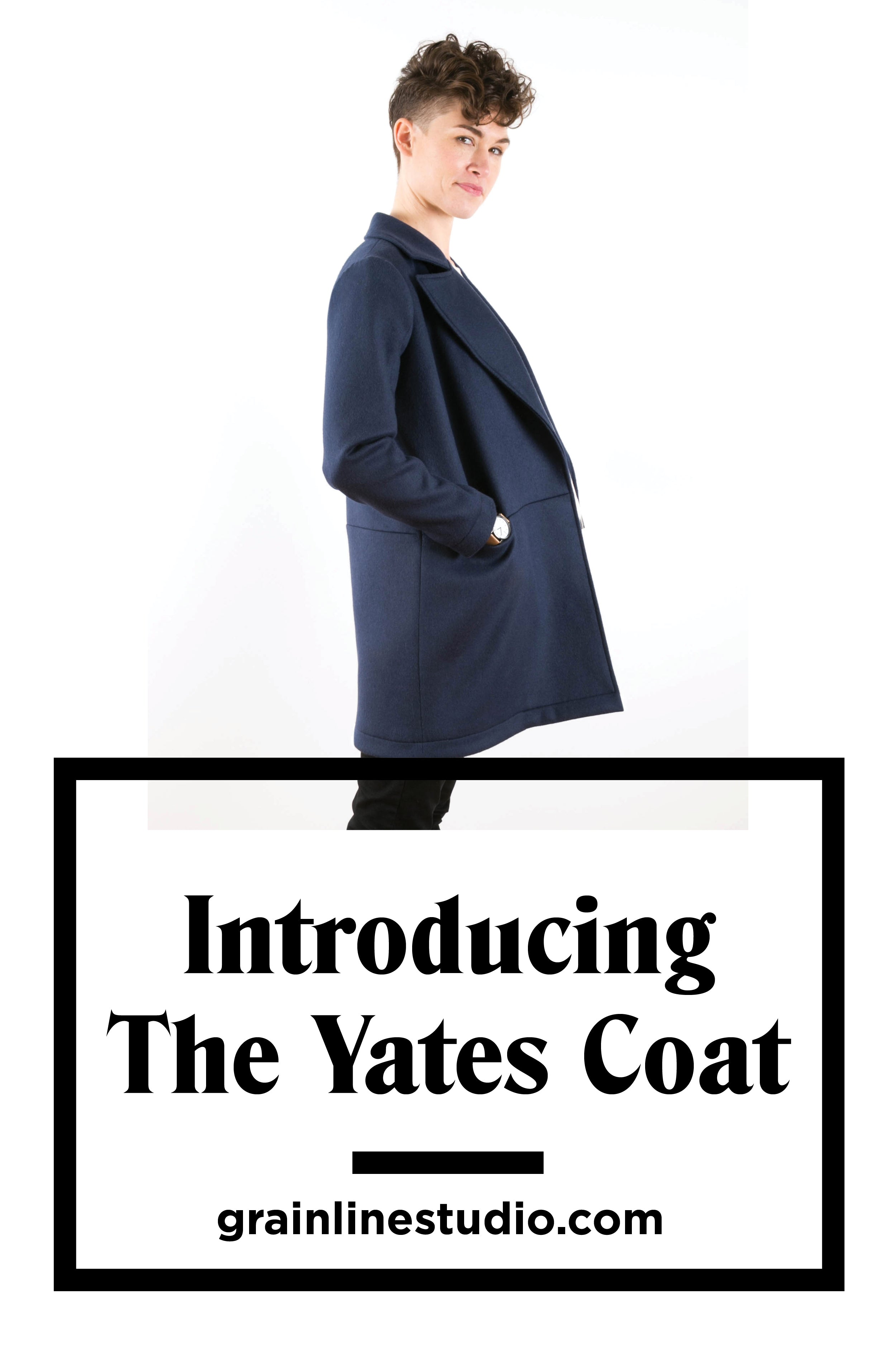 Yates Coat Sewing Pattern | Grainline Studio
