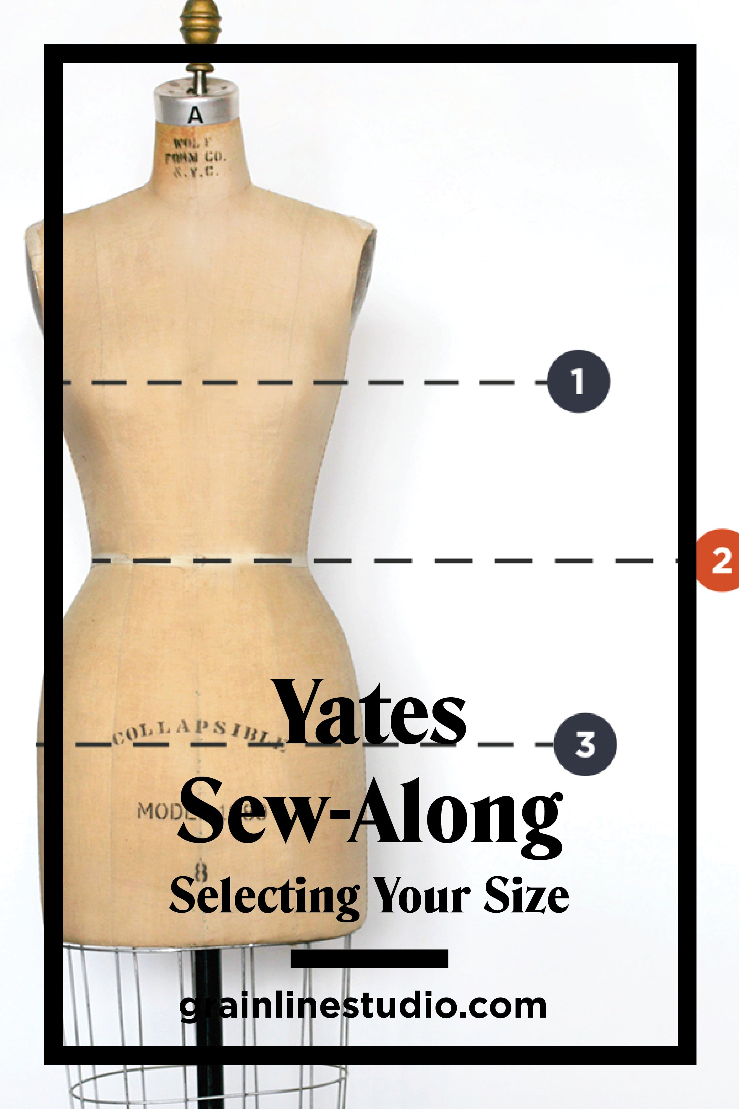 Selecting your Size | Yates Sew-Along | Grainline Studio