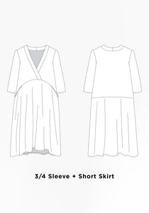 Felix Dress Downloadable Sewing Pattern | Grainline Studio