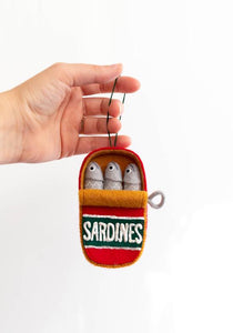 Can of Sardines Holiday Ornament Pattern