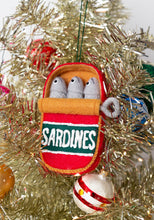 Load image into Gallery viewer, Can of Sardines Holiday Ornament Pattern