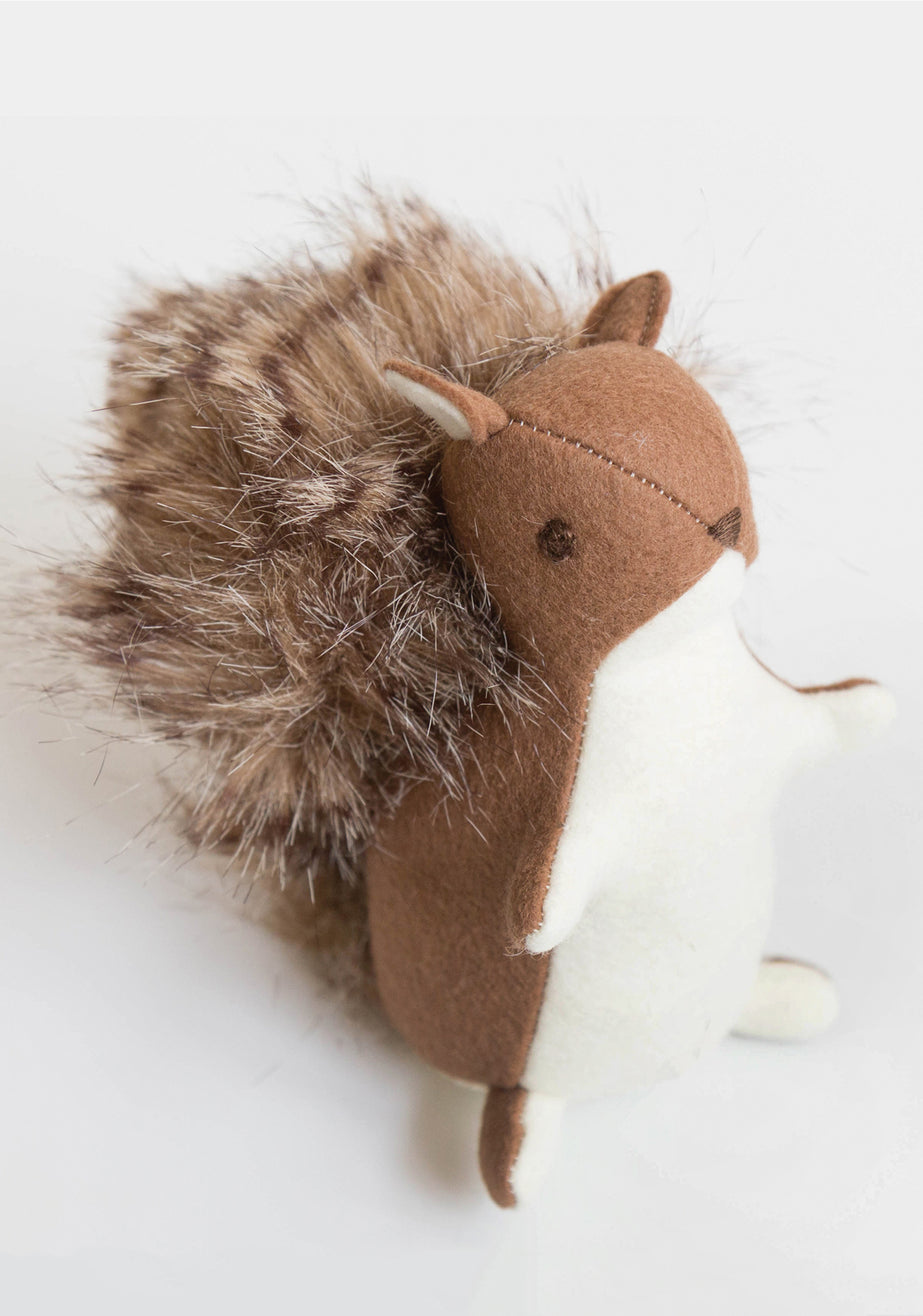Squirrel Stuffed Toy Pattern | Grainline Studio