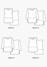 Load image into Gallery viewer, Grainline Studio Uniform Tunic Sewing Pattern