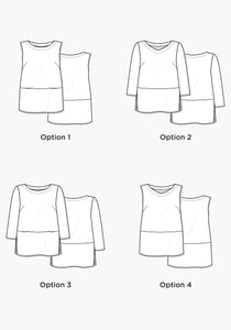 Grainline Studio Uniform Tunic Sewing Pattern