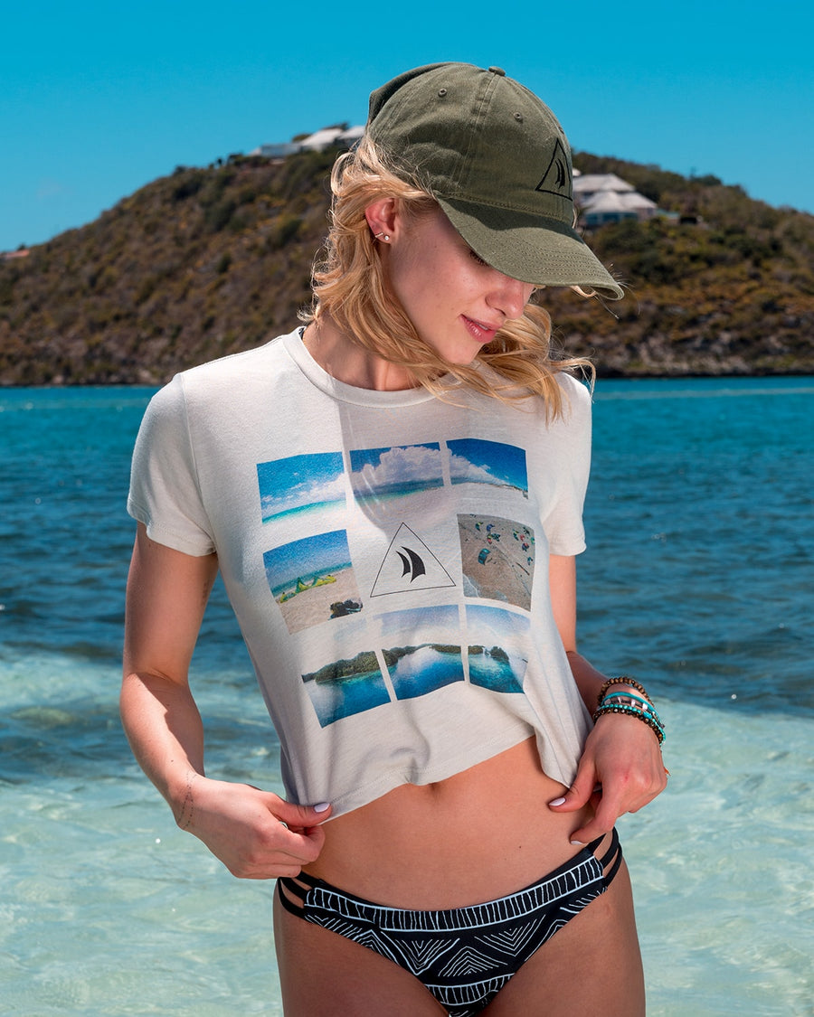 Women's Heather Dust Wind Voyager T-shirt
