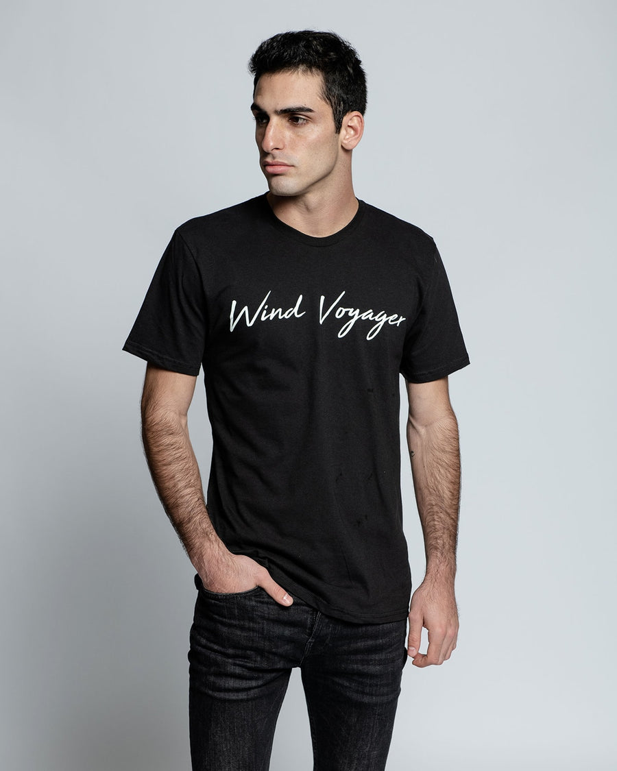 Men's Black Wind Voyager T-Shirt