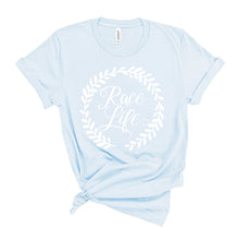 Load image into Gallery viewer, Race Life Light Blue T-shirt