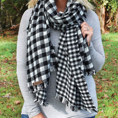 Mix Checkered Scarf