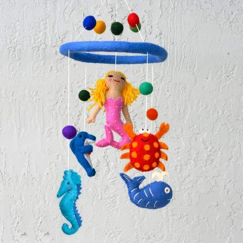 Mobile - Mermaid and Sea Creature
