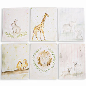 Prints Baby's First Animals Set of 6