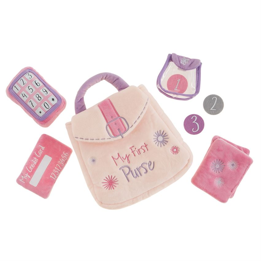 MY FIRST PURSE PLUSH PLAY SET