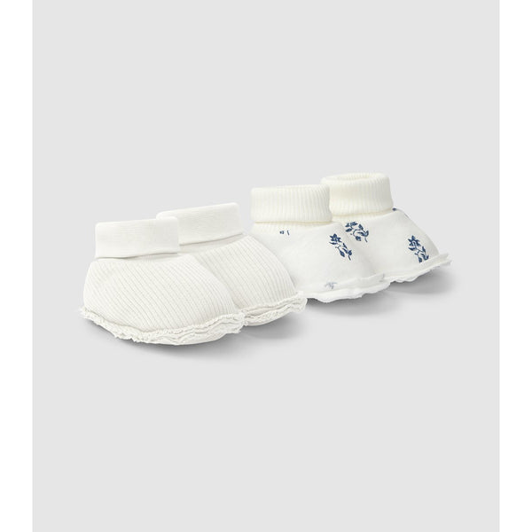 Organic cotton booties