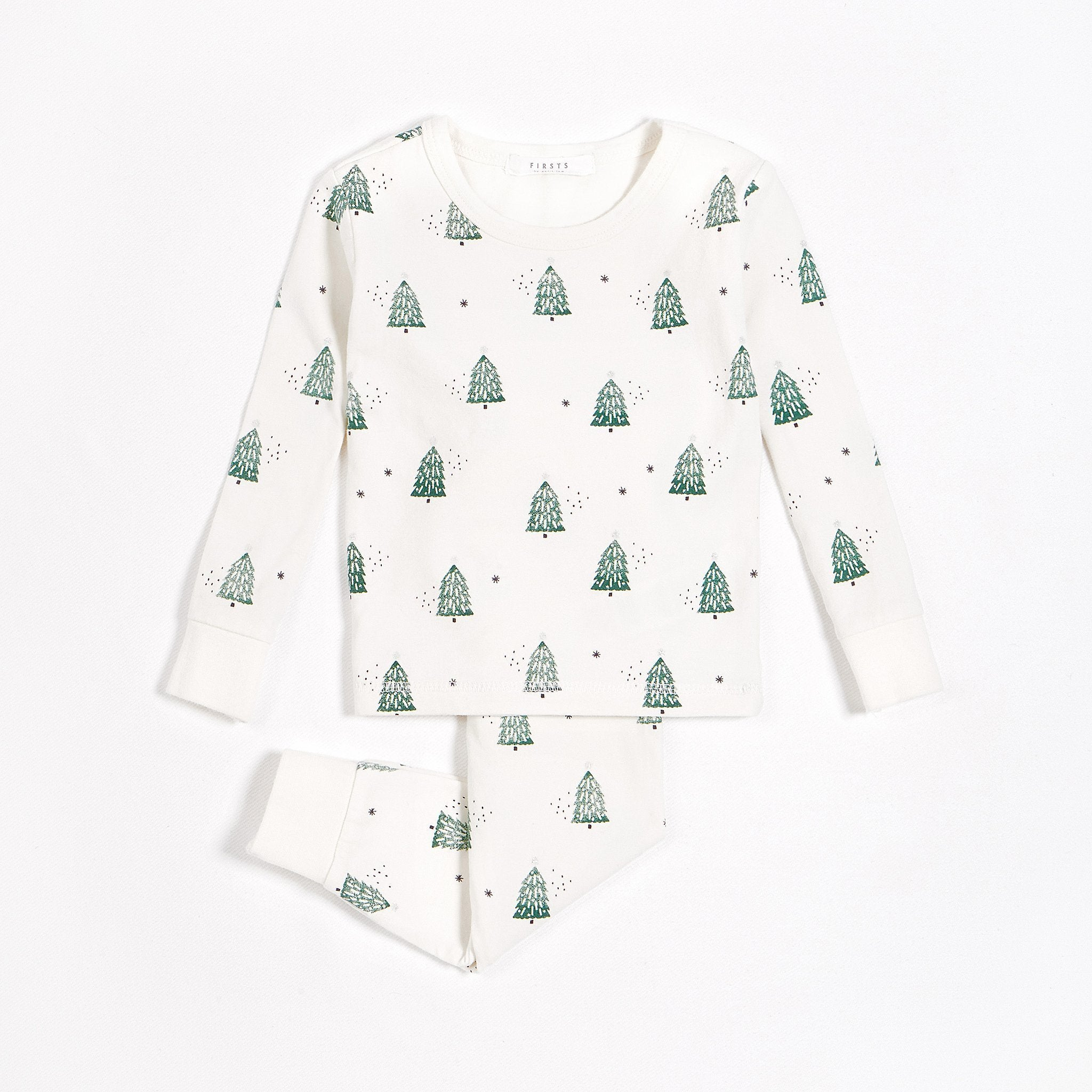 "FIRSTS ""Festive Trees"" PJ Set with Organic Cotton (2 pcs.)"