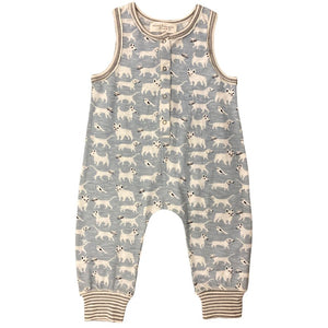 animal friends long romper