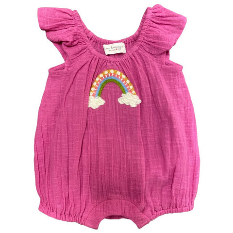 rainbow wishes romper
