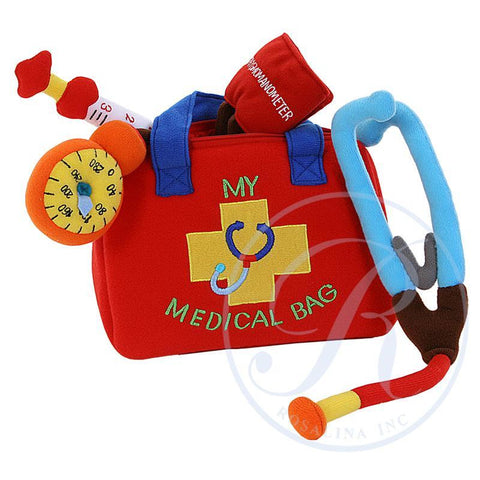 Red & Blue Medical Playbag