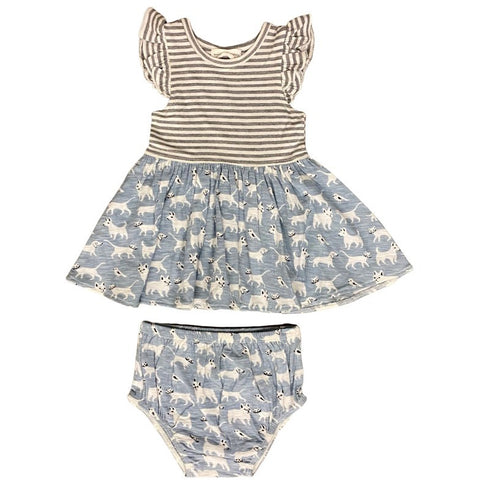 family pets dress & (diaper cover inf only)