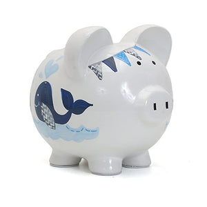 Piggy Bank, blue whales