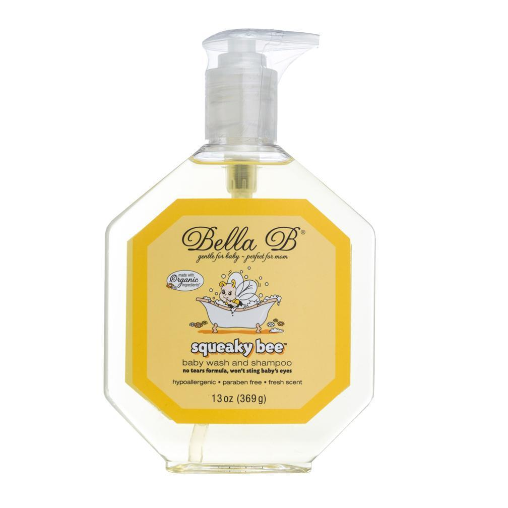 Squeaky Bee Hair and Body Wash 13oz Bottle