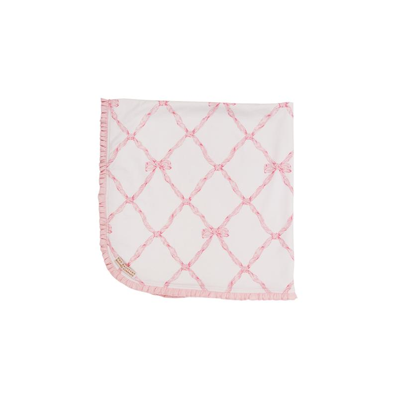 Baby Buggy Blanket Belle Meade Bow