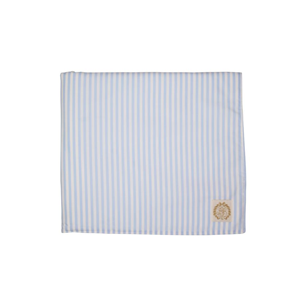 Bishop Bath & Beach Towel Beale Street Blue Stripe
