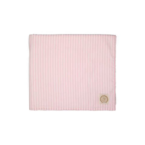 Bishop Bath & Beach Towel Pinckney Pink Stripe