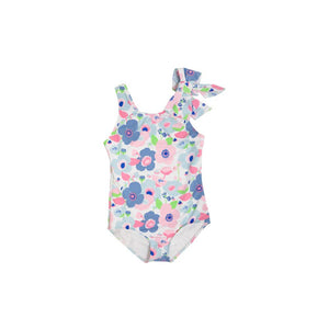 Brookhaven Bow Bathing Suit Palm Springs Peony