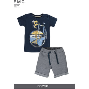 Boys Graphic Tee and Short Set