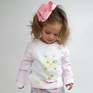 Gisele the Giraffe Knit Sweater