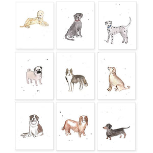 Puppy Dog Nursery Prints