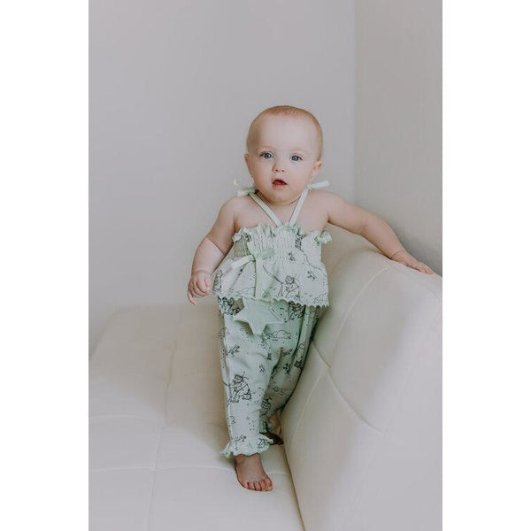 Harper Romper Blue Blush