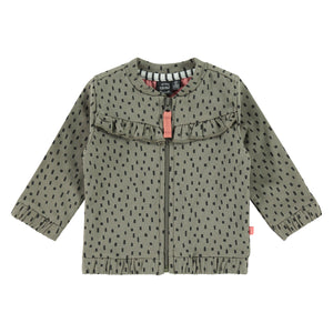 Baby Girl Zip Up Cardigan