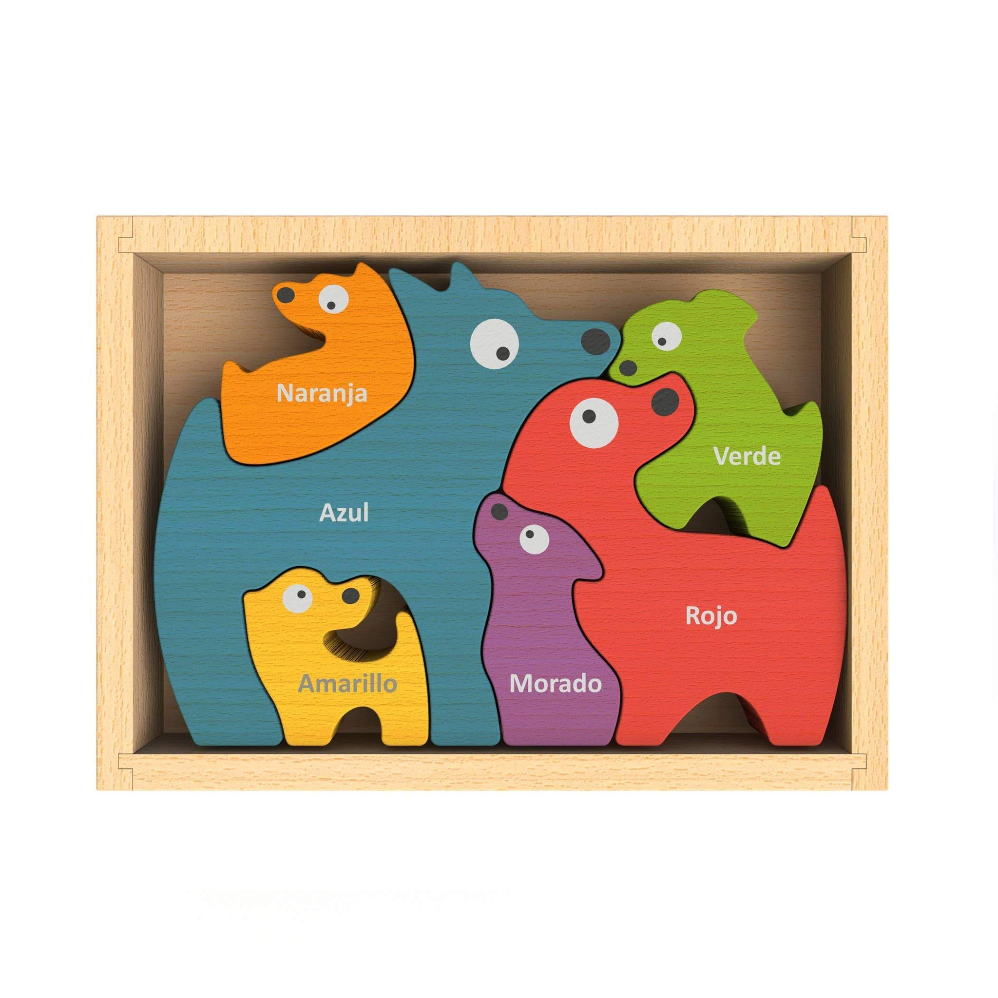 Preorder Dog Family Puzzle - Bilingual!