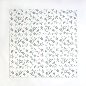Star Delight Swaddle - Aqua