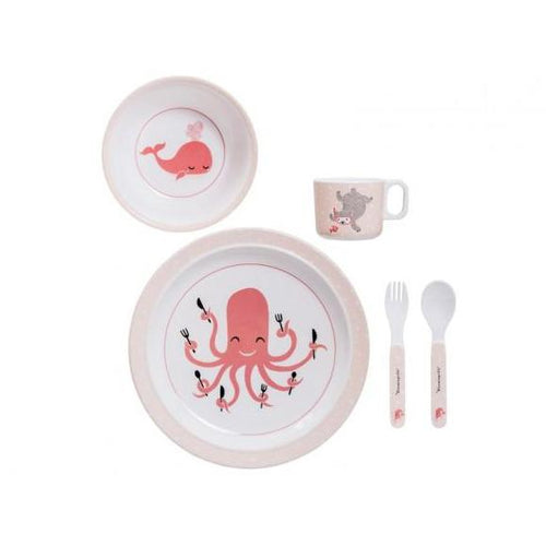 Bloomingville Melamine Serving Set Ida