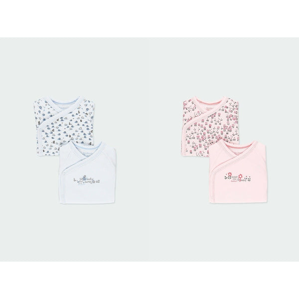 2-pack baby interlock bodysuits