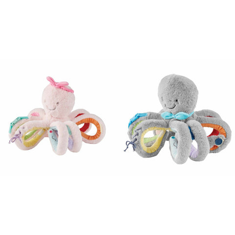 OCTIVITY PAL PLUSH TOY PINK OR GREY