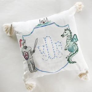 Pillow Medieval with Tassels