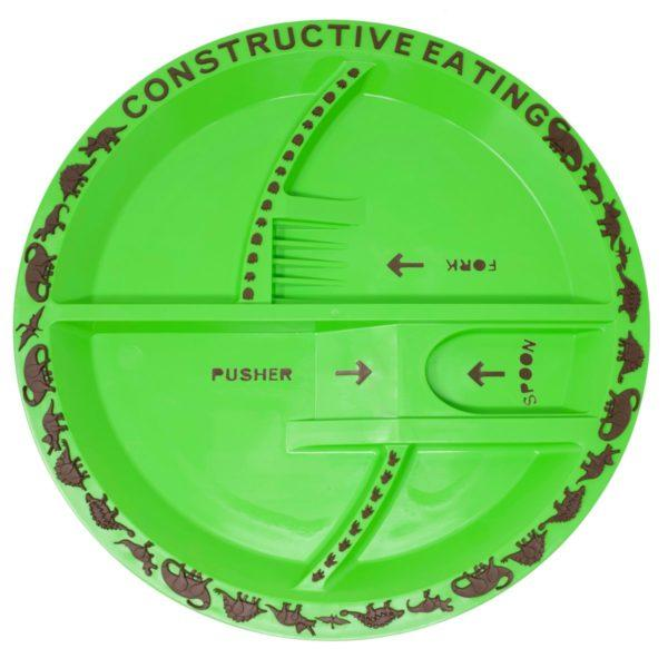 Constructive Eating Plates