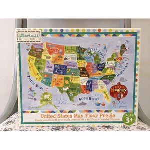 United States Map Floor Puzzle