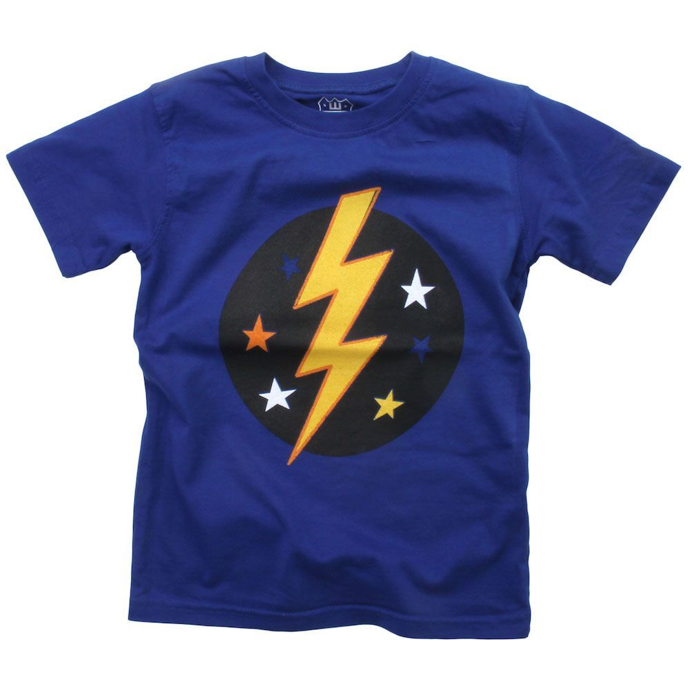 Lightning Bolt SS Tee Blue Moon