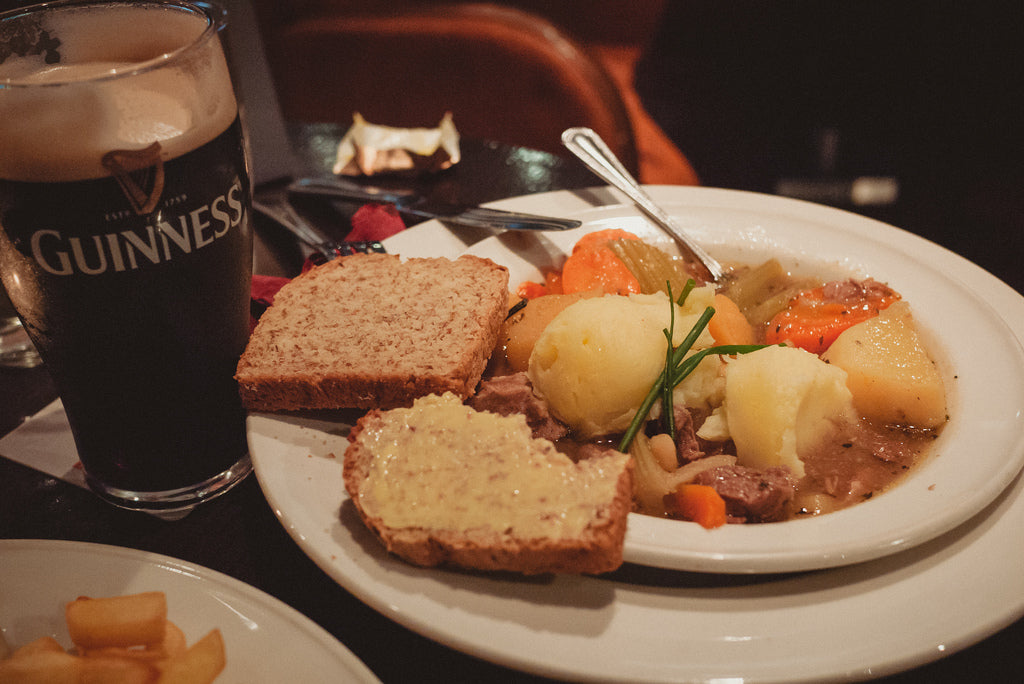 Saint Patrick's Day Beef Stew with Guinness and Wagyu