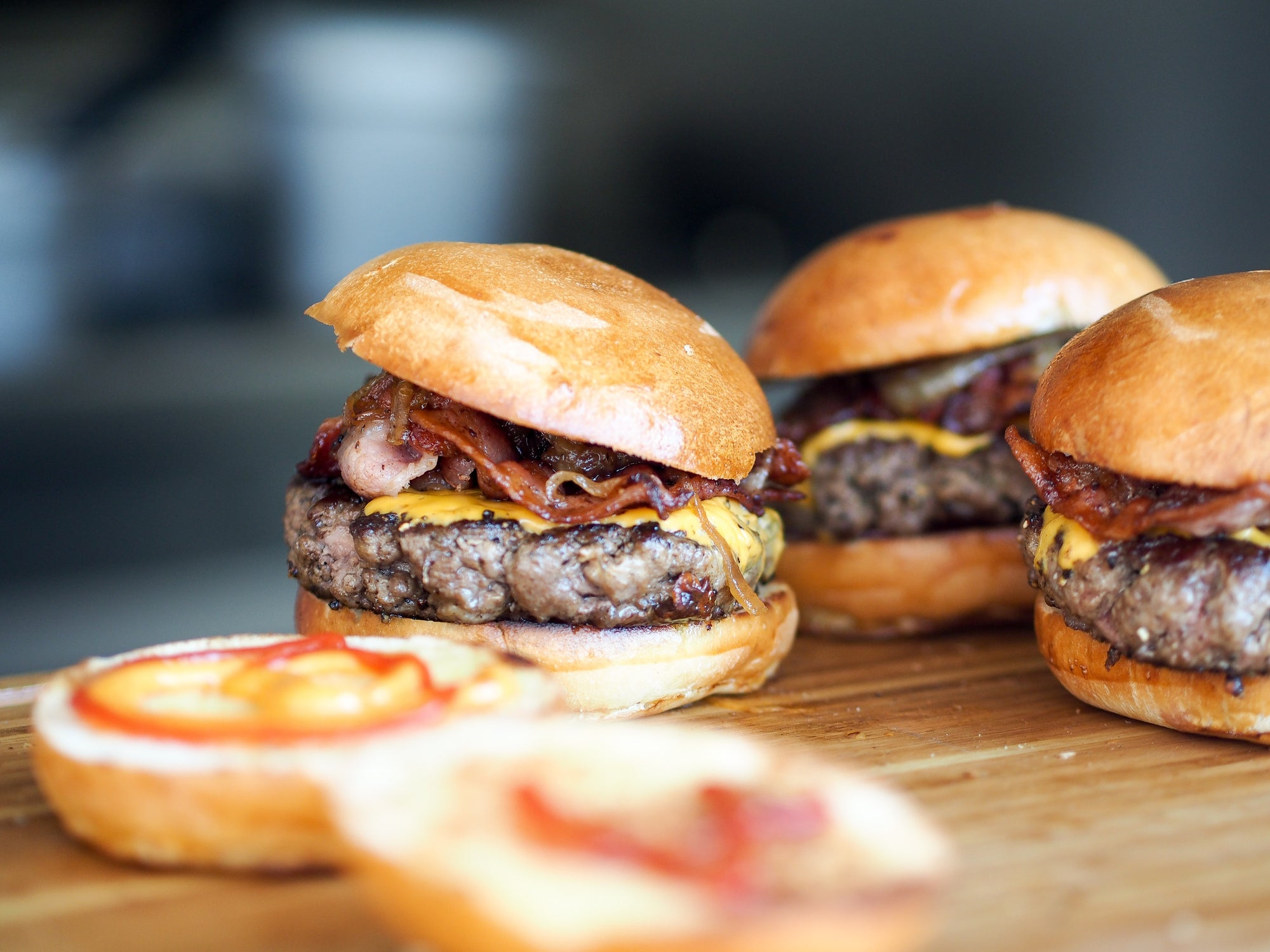 Full-Blood Wagyu Burger Sliders
