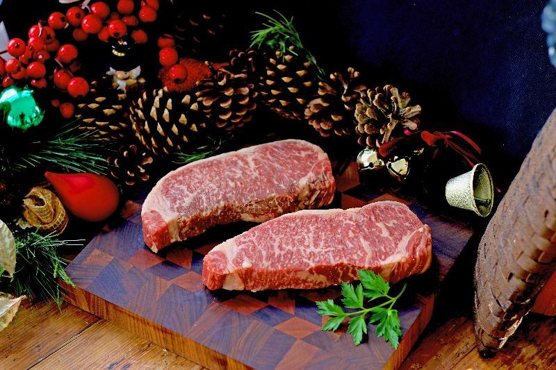Double Trouble (2 Strip Steaks) - Executive Gift Box