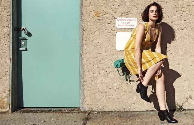 Mellow Yellow: The Ashbury Bedford Dress